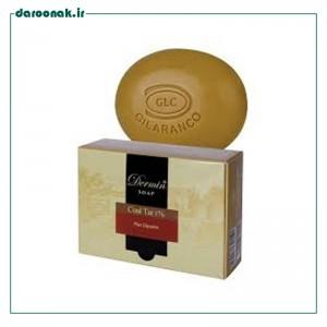 صابون کل تار 1% درمین مناسب پوست دارای اگزما 100 گرم