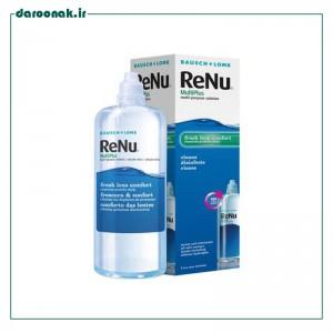 محلول شستشوی لنز رنیو بوش اند لومب 240 میلی لیتر مناسب لنزهای طبی و رنگی