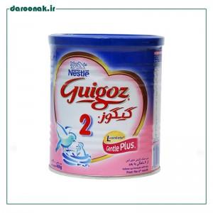 شیر خشک گیگوز ۲ نستله مناسب شیرخوران از ۶ تا ۱۲ ماه ۴۰۰ گرم