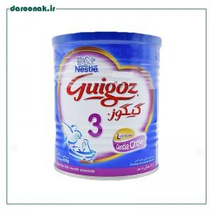 شیر خشک گیگوز ۳ نستله مناسب از ۱۲ ماهگی به بعد ۴۰۰ گرم