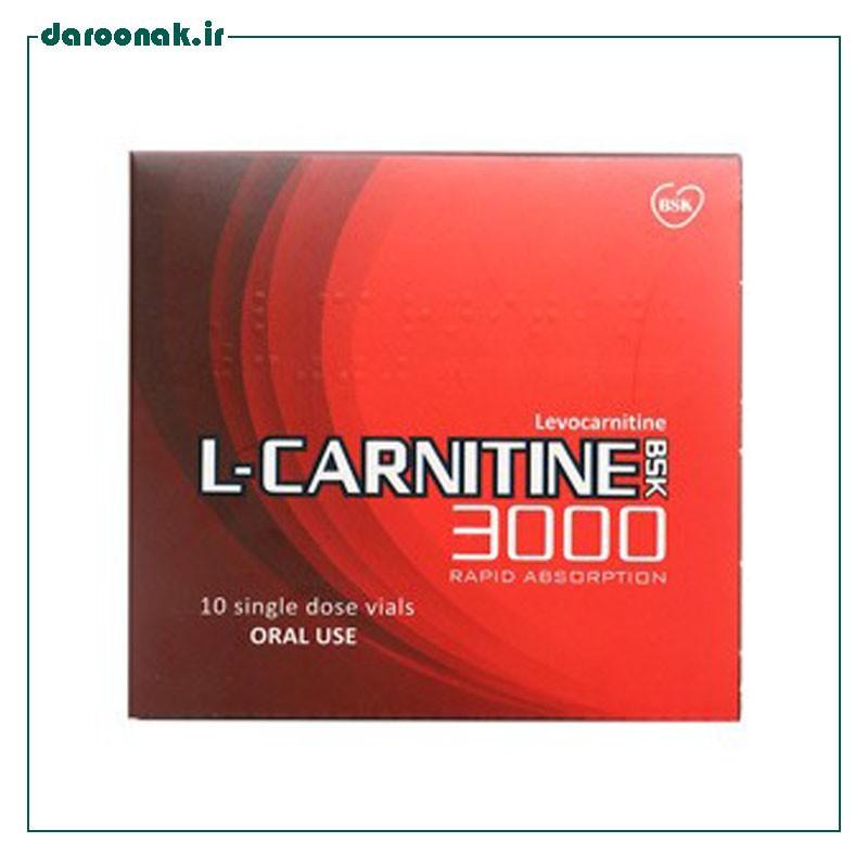محلول خوراکیال کارنیتین 3000 بی اس کی 10 عدد