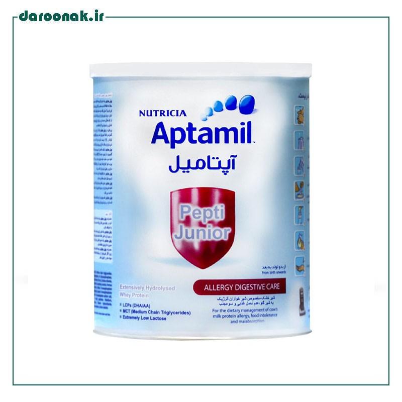 شیر خشک آپتامیل پپتی جونیور نوتریشیا ۴۰۰ گرم
