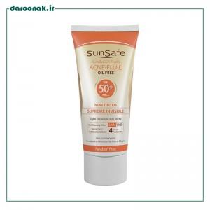 كرم ضد آفتاب +SPF 50 فاقد چربی سان سیف
