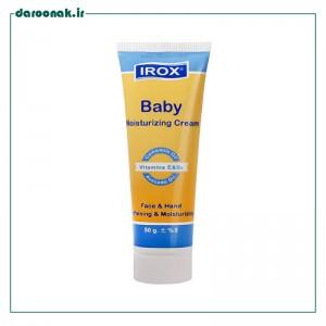 کرم مرطوب کننده بچه ایروکس ۵۰ گرم