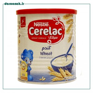 سرلاک گندم و شیر نستله از پایان ۶ ماهگی ۴۰۰ گرم